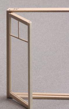Make Dollhouse Miniature Windows