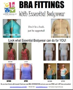 Essential Bodywear: Cute AND Comfortable! Sexy AND Comfortable! Affordable AND Supportive!