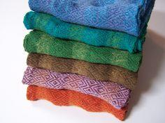 Rigid Heddle Loom Woven Scarves