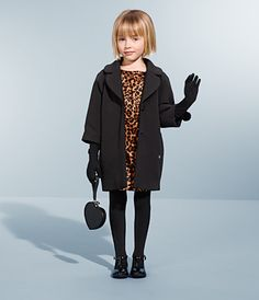 Perfect transitional outfit--from kindergarten to an evening event with no fuss!