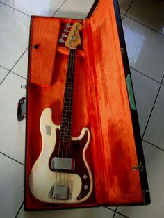 1964 Fender Precision Bass guitar Custom Color !