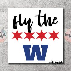 picture regarding Printable Cubs W Flag referred to as Chicago Cubs 3 X 5 \