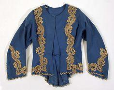 1860s, America - Jacket - Wool, silk