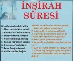 Her Derde Deva inşirah Suresiamin Love In Islam, Life Guide, S Word, Wise Quotes, Quran, Karma, Allah, Psychology, Prayers