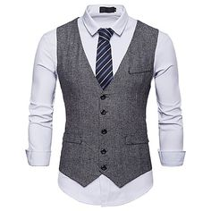 Season:Spring   Fall; Fabric:Polyester; Sleeve Length:Short Sleeve; Look After Me:Machine wash; Gender:Men's; Size Suggestion:This Style is TRUE to SIZE.; Style:Basic; Elasticity:Inelastic; Occasion:Work,Party; Age Group:Adults; Outerwear Length:Short; Closure Type:Single Breasted; Fit Type:Slim; Pattern:Polka Dot; Neckline:V Neck; Special Size:Normal; Outerwear Type:Vest; Front page:FF; Listing Date:08/20/2018; Bust:; Length:; Shoulder Width:; Dress Code:Business Casual; Pattern Theme:Fantastic Grey Suit Men, Mens Suit Vest, Mens Suits, Blazer Suit, Tweed Waistcoat, Tweed Suits, Business Casual Dress Code, Gilet Costume, Suits For Sale