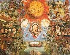 143 dipinti che compongono l'opera di Frida Kahlo,due terzi sono autoritratti.Esso rappresenta il martirio della sofferenza