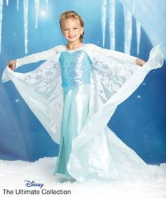 the ultimate collection elsa girls costume.. which will be kenzies with my finishing touches