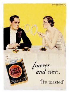 Storia della pubblicità delle sigarette