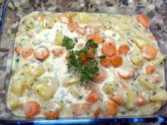 Aromatisches Kartoffelgulasch mit Möhren