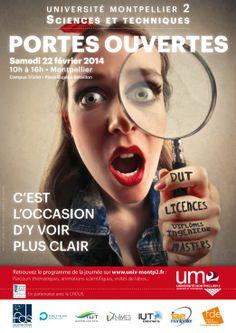 Portes ouvertes 2014 Université Montpellier 2 UM2
