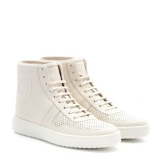 mytheresa.com - Leather high-tops - sneakers - shoes - Luxury Fashion for Women / Designer clothing, shoes, bags