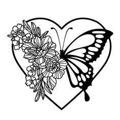 Butterfly Mandala, Butterfly Drawing, Butterfly Flowers, Vinyle Cricut, Cricut Craft Room, Cricut Creations, Easy Drawings, Cricut Design, Silhouette Cameo