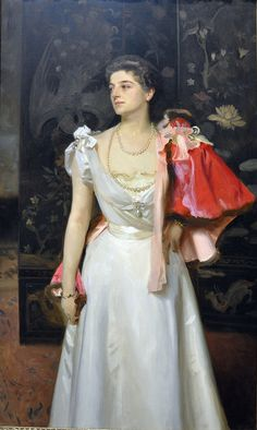 Portrait of Princess Demidoff, 1895-96 by John Singer Sargent (American, 1856–1925) oil on canvas