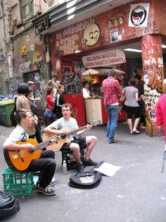 Buskers - Degraves Street