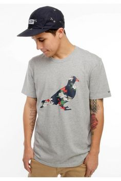Staple Clothing Paradise Pigeon T-Shirt - Heather $28.00