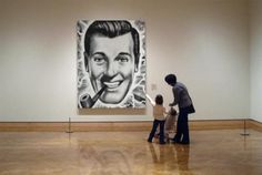 "JR ""Bob"" Dobbs, highest priest of the Church of the SubGenius"