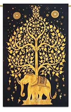 """Indian Tapisserie Wandbehang böhmischen Natur Dorm Room Wandteppiche voller Größe 84 """"x 56"""" Indianbeautifulart http://www.amazon.de/dp/B00N9YZ7OS/ref=cm_sw_r_pi_dp_5Bw9vb0K45V6B"""