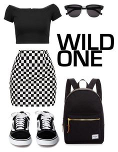 """""""Wild One"""" by tinydancer1175 on Polyvore featuring Alice + Olivia, Yves Saint Laurent and Herschel Supply Co. #modajuvenil"""