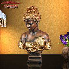 Find More Figurines & Miniatures Information about 2016 Real Limited European Home Furnishing Resin Decoration Sculpture Girls Head Model Room Living ,High Quality decorative wall decor,China decor christmas decorations Suppliers, Cheap living room decor gallery from Commodity wholesale 2 on Aliexpress.com