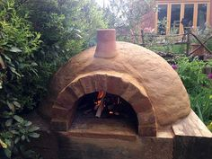 I definitely want to make a clay oven one day