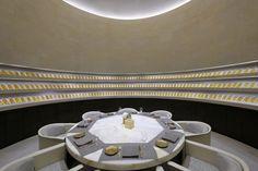 Armani Hotel Dubai by Wilson Associates Interior Design Dubai, Interior Design Software, Interior Designing, Armani Interiors, Grosvenor House London, Armani Hotel Dubai, Palazzo Versace, Downtown Hotels, Fancy Houses