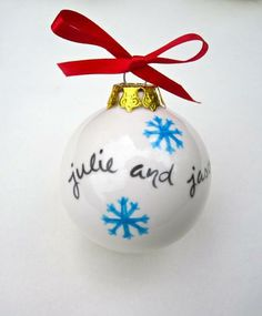 Personalized Christmas Ornament by Suzaluna | Hatch.co