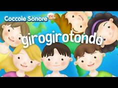 Giro giro tondo - Italian Songs for children by Coccole Sonore Canti, Dancing Baby, Kids Songs, Nursery Rhymes, Tv, Origami, Children, Italy, Youtube