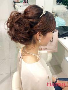 色んなスタイルに挑戦♡海外挙式の花嫁さま♡リハ編 大人可愛いブライダルヘアメイク『tiamo』の結婚カタログ