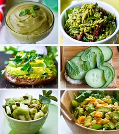 A bunch of vegan recipes that sounds pretty darn good! Vegan Recipes Videos, Vegan Lunch Recipes, Cooking Recipes, Healthy Recipes, Vegan Blogs, Vegetarian Food, Veggie Recipes, Sin Gluten, Healthy Snacks
