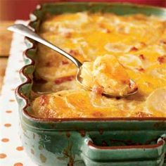 Country Potatoes au Gratin | Delicious!  And once I got Corey to try them, he loved it too!