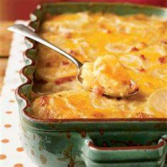Country Potatoes au Gratin | MyRecipes.com