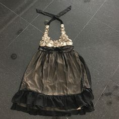 Charlotte Russe party dress Charlotte Russe party halter dress size L Charlotte Russe Dresses