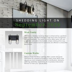 Mini Pendant Lights, Pendant Lighting, Mirror Effect, Types Of Lighting, Lighting Solutions, Wall Sconces, Track Lighting, Shed, Pendant Lights