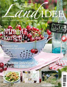 Cover tijdschrift LandIdee juni/juli 2014 #magazine #home #wonen #tuinieren #gardening