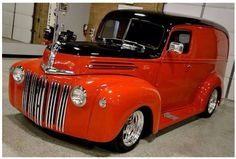 '36 Chevy Delivery Custom