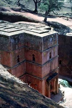 Bete Giyorgis (St. George) rock-hewn church, Lalibela, Ethiopia