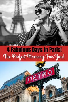 You need this perfect Paris Itinerary! Whether it's your first time or time, these things to do in summer and winter will make your vacation in Paris the perfect time! Paris France Travel, Paris Travel Guide, Europe Travel Tips, European Travel, Travel Destinations, Travel Abroad, Travel Guides, 4 Days In Paris, Paris Itinerary