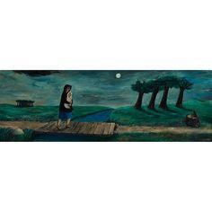 Dinah Enters the Landscape by Gertrude Abercrombie