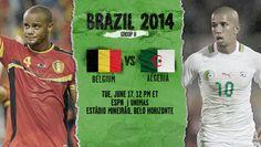 Belgium vs Algeria Live Stream Info FIFA World Cup Preview 2014. http://www.watchcriclive.com/news/?p=608