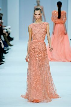 Elie Saab Haute Couture 2012  i.e. My new running-errands-on-a-Saturday outfit.