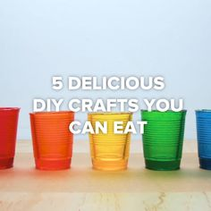 5 Delicious DIY Crafts You Can Eat