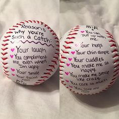 Cute baseball gift for him. #boyfriendbirthdaygifts #boyfriendgift #boyfriendanniversarygifts
