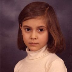 School picture of Alyssa Milano