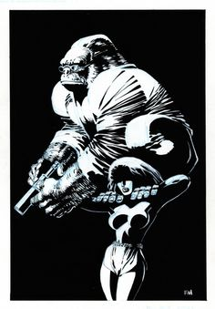 Monkeyman and O'Brien by Frank Miller