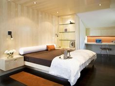 After: Sleek, Contemporary Style - Modern, Comfortable Master Bedroom on HGTV
