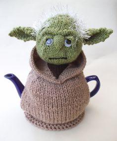 Star Wars Yoda Tea Cosy Knitting Pattern and more Star Wars inspired knitting patterns at http://intheloopknitting.com/star-wars-knitting-patterns/