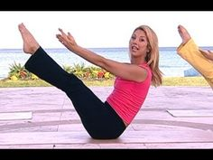 Denise Austin Power Abs Pilates Workout is a unique series of Pilates-based, ab sculpting exercises that is designed to develop and tone your abs, strengthen your core, and tighten your obliques. Iconic Trainer, Denise Austin takes you through this advanced abdominal routine that will burn fat, and improve posture.  Build six-pack abs and a stro...