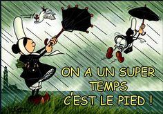 Mam goz on a un super temps Celtic, Tour Eiffel, Travel Deals, Rainy Days, Tours, Humor, Funny, French Tips, Drawings