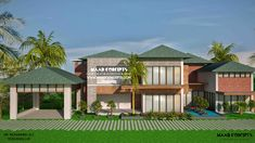 Marvelous Contemporary House In Kerala Download Free Architecture Designs Scobabritishbridgeorg