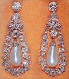The Duchess of Gloucester's Pendant Earrings